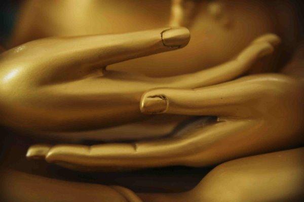ידי הבודהה במדיטציה