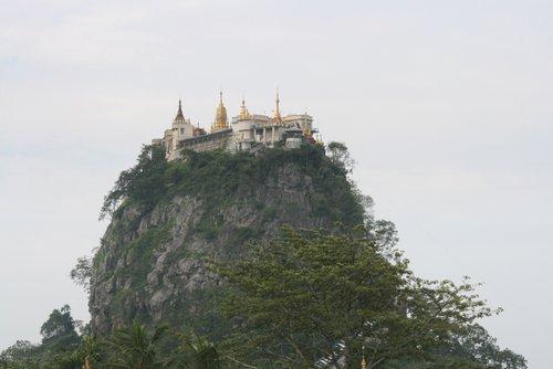 מקדש פופה בבורמה