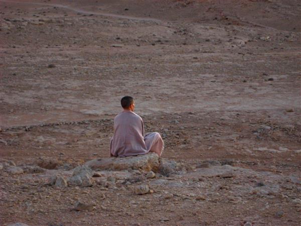 מדיטציה במדבר עם ענת צחור