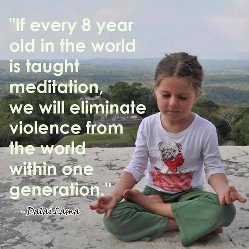מדיטציה לילדים