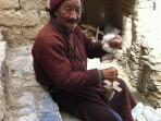buddhist monk Ladakh