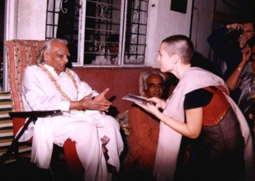 B.K.S Iyengar and Anat Zahor 2002
