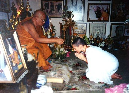 Ven. Ajarn Tong Sirimangalo and Anat Zahor