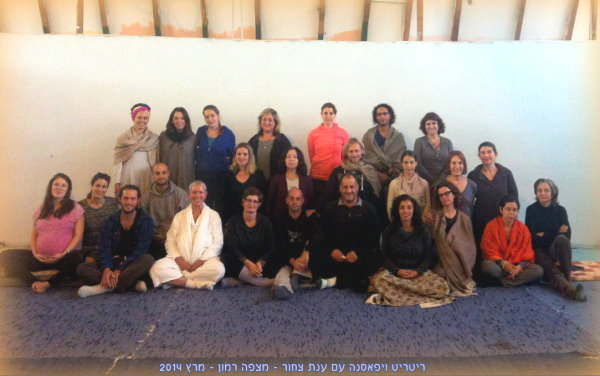 Vipassana retreat March 2014 Group