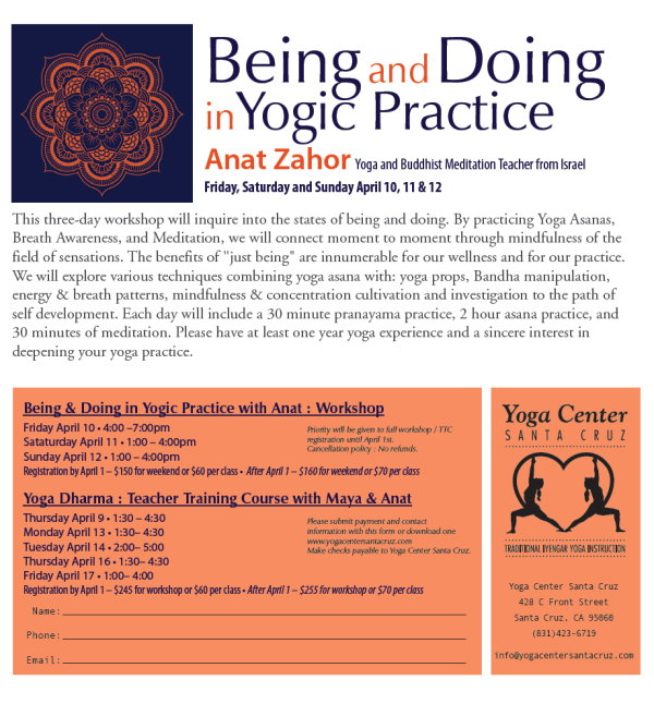 Anat Zahor 2015 Santa cruz workshop site
