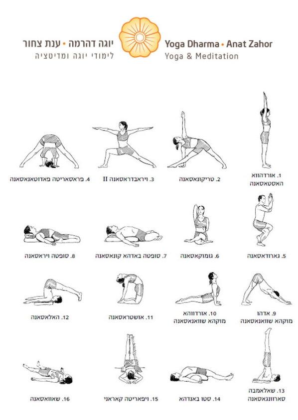 תרגול יוגה לחיזוק מערכת הנשימה יוגה דהרמה