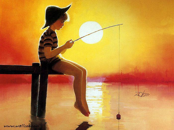 ציורי ילדים Donald Zolan