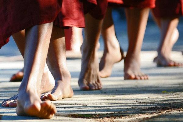 חושו ודעו כל צעד, השקיטו את התודעה.