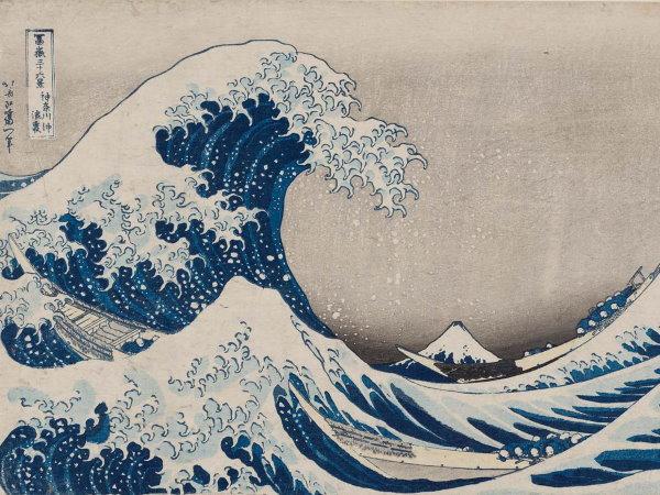 katsushika hokusai - wave