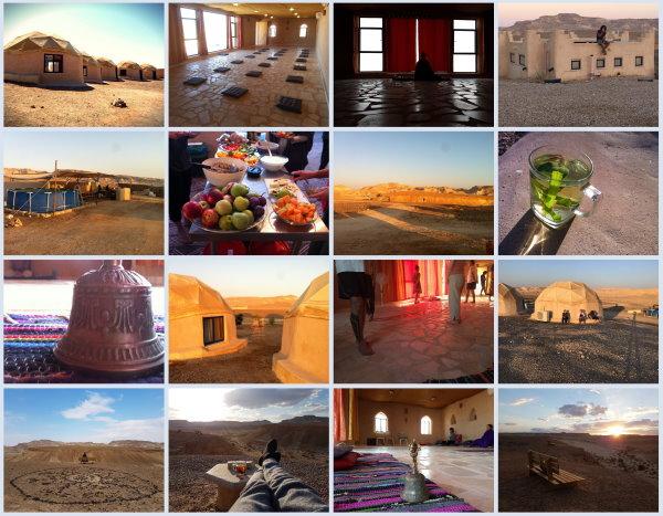 סדנת יוגה ומדיטציה במדבר